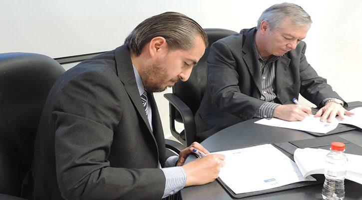 Firman convenio IECA y la Universidad San Ángel del sur