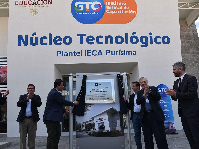 Arranca el Núcleo Tecnológico de IECA Purísima del Rincón